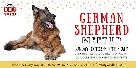 German Shepherd Meetup at the Dog Yard in Ballard tickets