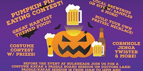 Boo & Brew Festival in Orange Park with Costumed Paddle on Doctors Lake tickets