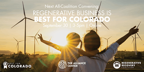 Regenerative Business is Best for Colorado tickets