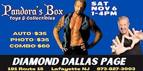 Diamond Dallas Page Meet & Greet at Pandora's Box Toys & Collectibles tickets
