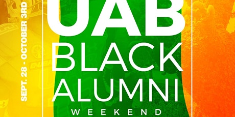 UAB BLACK ALUMNI WEEKEND 2021 tickets
