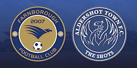 Farnborough vs Aldershot Town tickets