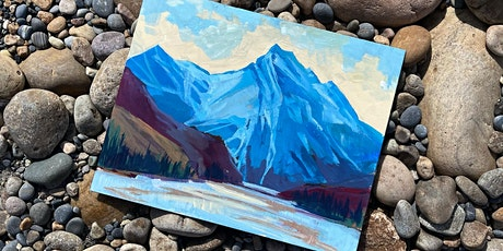 Mountain Landscape Workshop using Acrylics tickets