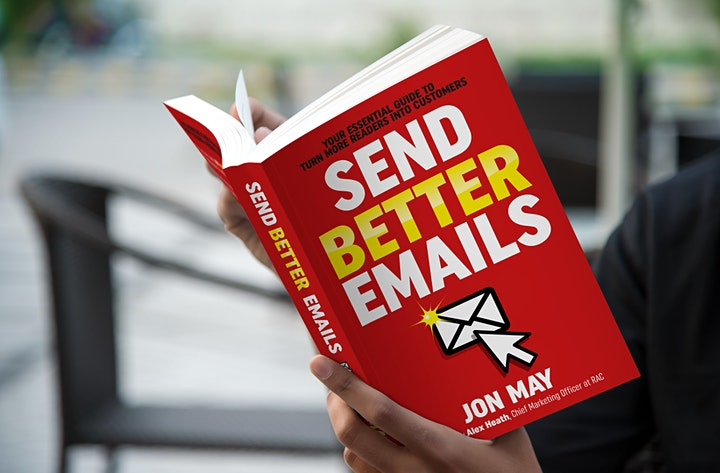 Send Better Emails Book Launch Party image
