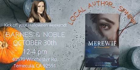 MEREWIF, the MERMAID WITCH: Local Author Book Signing tickets