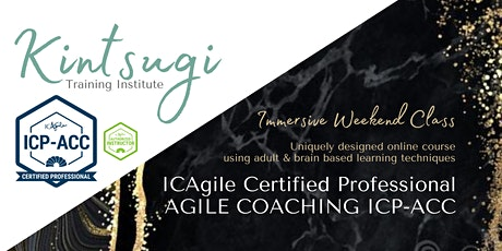 ICAgile Agile Coaching (ICP-ACC) - LIVE Virtual Training Class (Weekends) tickets