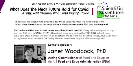 A Talk with Women Who Lead During COVID tickets