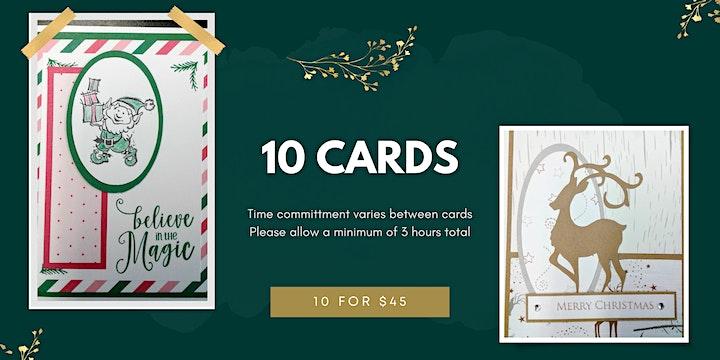 Christmas Card Buffet (Workshop) image