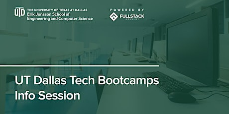 Online Info Session | UT Dallas Tech Bootcamps tickets