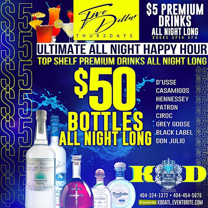 "KARLIE REDD "" ULTIMATE ALLNITE HAPPY HOUR "" $5 DRINKS & $50 BOTTLES ALLNITE image"