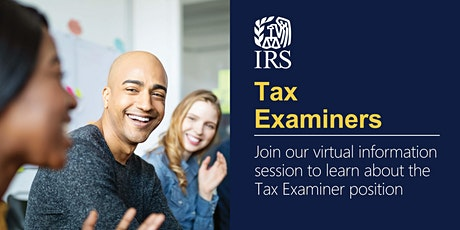 Virtual Information Session about the Tax Examiner position tickets