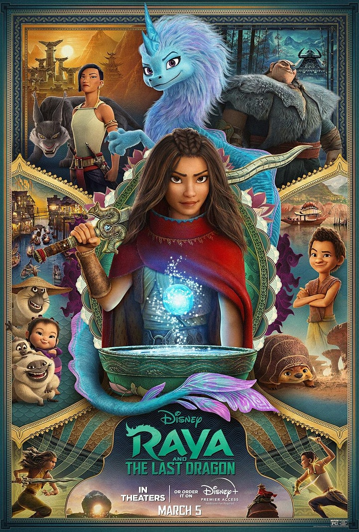 Fortis BC Pres: Movie Nights Merritt-Raya Last Dragon 09/24 image