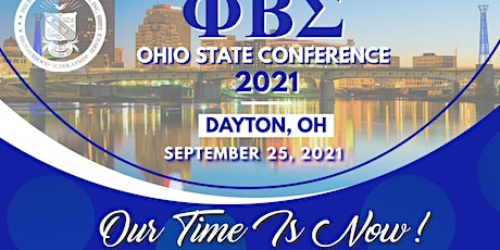 """2021 Phi Beta Sigma Ohio State Meeting - """"Our Time is Now"""" tickets"""