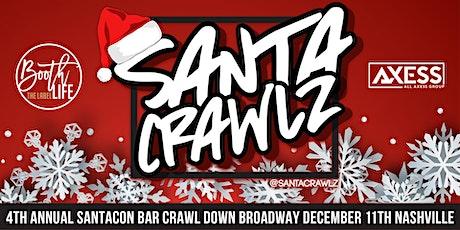 Santa Crawlz down Broadway - A Nashville SantaCon tickets