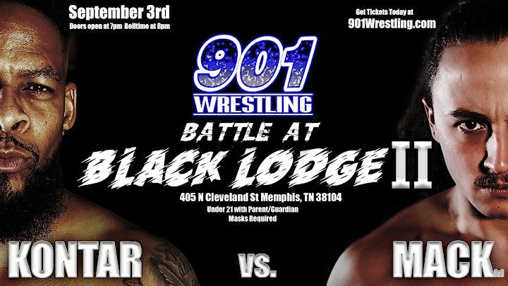 Battle at Black Lodge II - Kontar v. Mack image