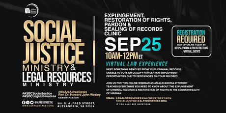 Expungement, Restoration of Rights, Pardons and Sealing of Records tickets