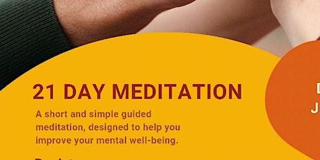 21 Day Guided Meditation (Maitri Sambodh Dhyaan) Tickets