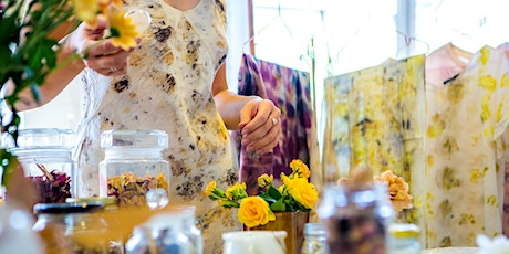 Discover Silk Print Craft with Botanical Waste Materials tickets