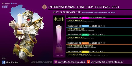 International Thai Film Festival 2021 biglietti