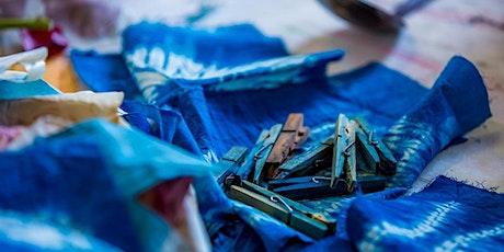 Inspiring Handmade Heritage with Stitched Shibori & Organic Indigo Dye. tickets