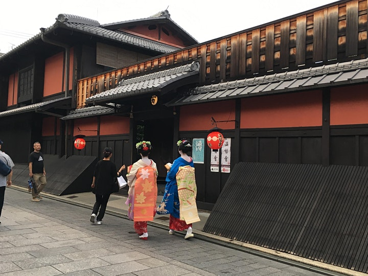 A walk in Kyoto's Gion district image