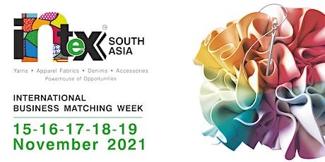 Intex South Asia - International Business Matching Week tickets