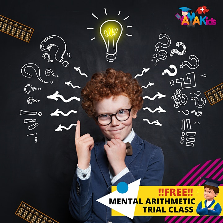 FREE Mental Arithmetic Trial Class for  6-16 y.o. Children image