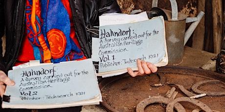 HAHNDORF HANDMADE HISTORY tickets