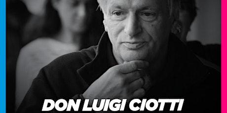 """DON LUIGI CIOTTI a Cosenza (20-09-2021 ore 18:00) per """"Music for Change"""" biglietti"""