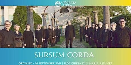 Sursum Corda biglietti