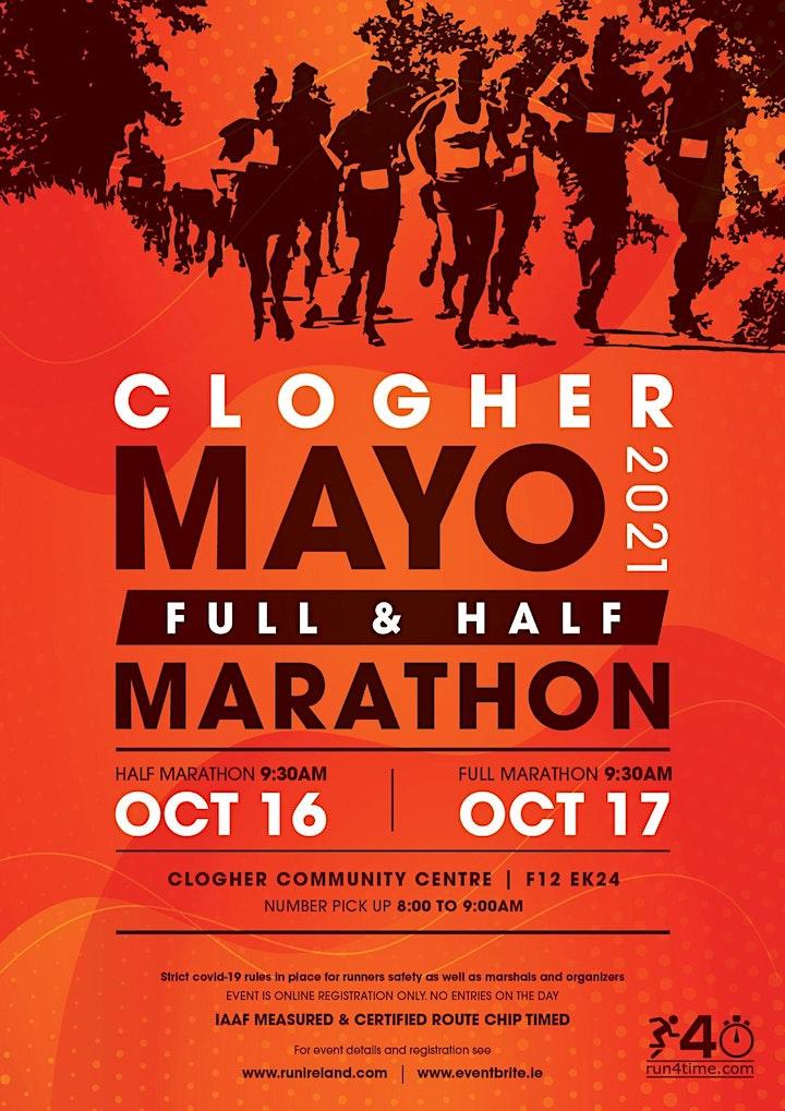 Clogher Mayo Full and Half Marathon image