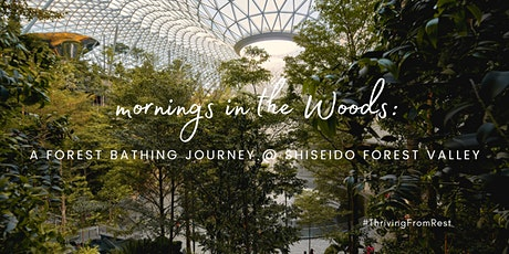 Mornings in the Woods: a forest bathing journey @ Shiseido Forest Valley tickets