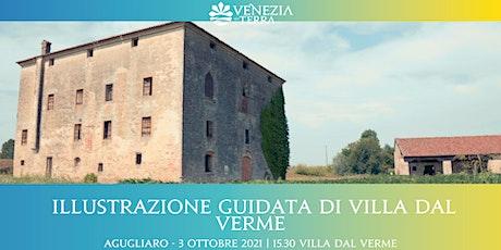 Illustrazione guidata di Villa Dal Verme biglietti