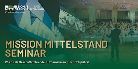 Mission Mittelstand Seminar - Stuttgarter Tickets