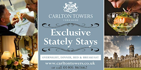 Exclusive Stately Stay tickets