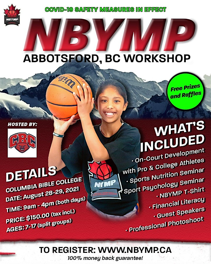 NBYMP Basketball Workshop - Abbotsford, BC (Columbia Bible College) image