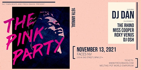 The 16th Annual Pink Party with DJ Dan tickets