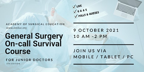 General Surgery On-call Survival Course tickets