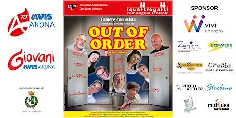 Camere con Svista - Out of Order biglietti