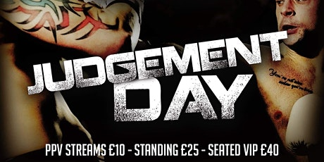 October 9th Judgement Day Boxing Event tickets