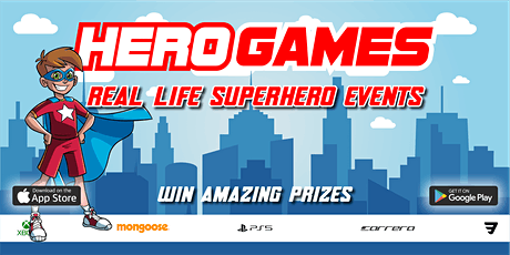 Hero Games - Real Life Superhero Crime Fighting Events in London tickets