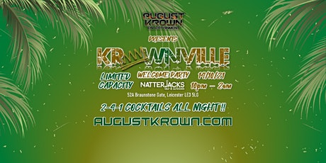 KROWNVILLE - WELCOME PARTY tickets