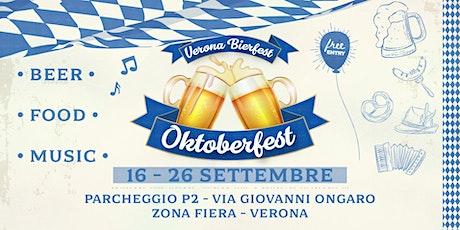 • Verona Oktoberfest 2021 • (Ingresso libero) biglietti