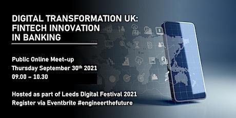 Digital Transformation UK: Fintech Innovation tickets