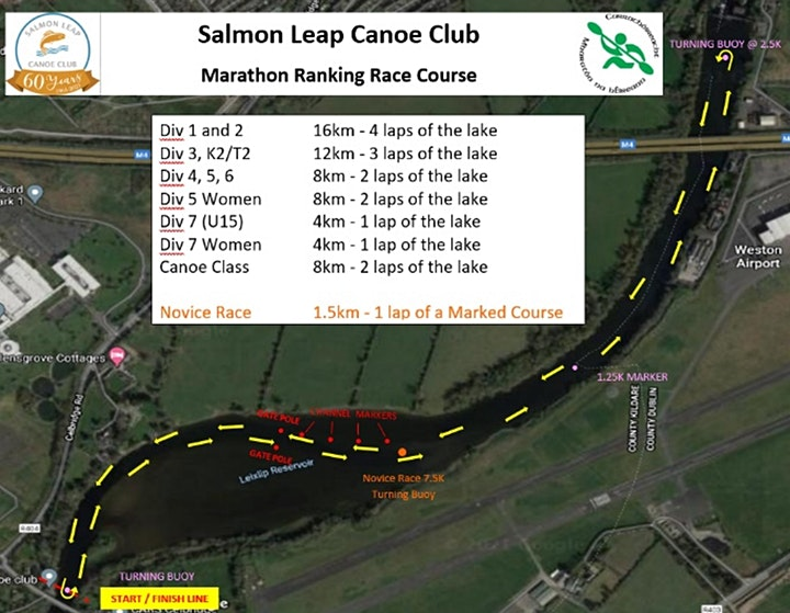 Salmon Leap Canoe Club Ribbadsella Marathon Ranking Race image