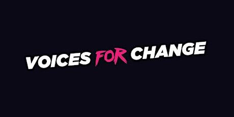 VOICES for CHANGE (20-09-2021 ore 21:00) [Music for Change 2021] biglietti