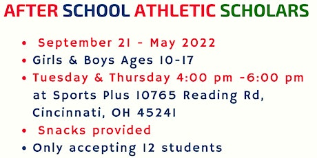 After School Athletic Scholars tickets