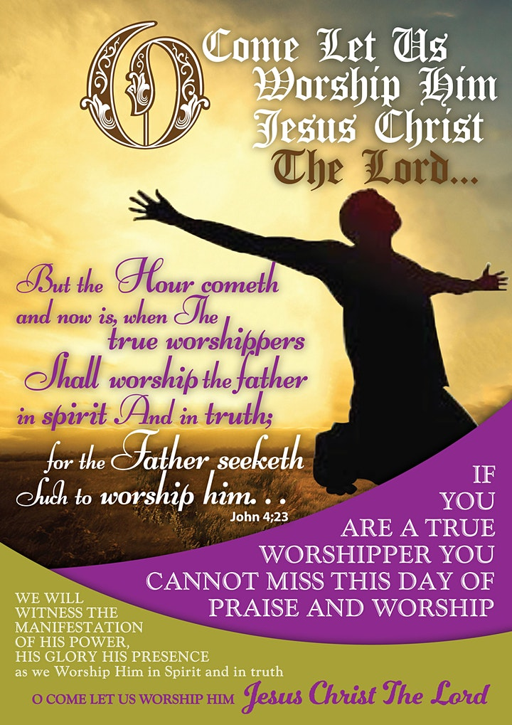 A DAY OF GLORIOUS PRAISE and WORSHIP image