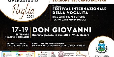 DON GIOVANNI dramma giocoso in due atti di W.A. Mozart biglietti