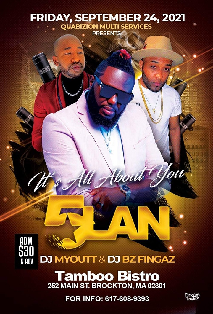 5 LAN /DJ MYOUTT/DJ BZ FINGAZ image